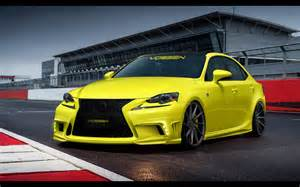 2014 lexus is 350 f sport by vossen wheels static 4