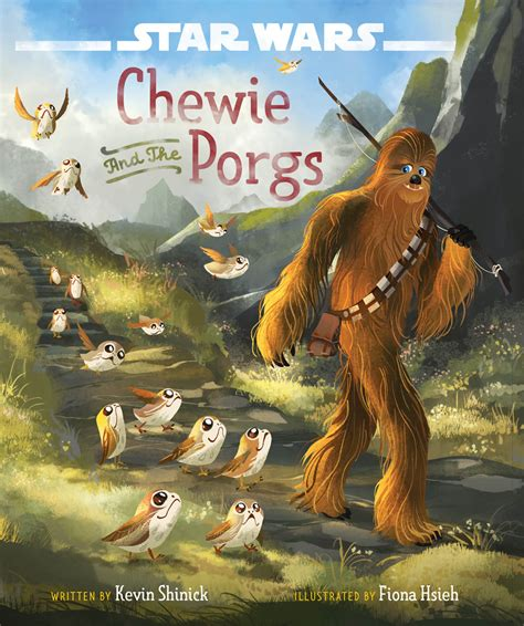 wars the last jedi chewie and the porgs books new wars the last jedi books and more revealed at