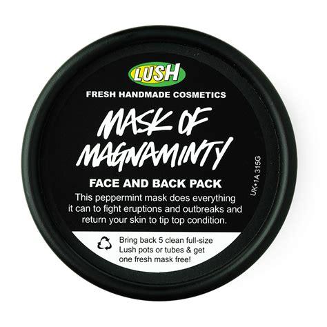 Masker Lush nilimi review lush mask of magnaminty