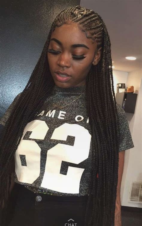 box braids in front weave in back small cornrow hairstyles fade haircut