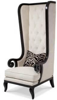 Highback Armchair Aico Foxie High Back Chair Black Onyx Fs Foxie34 Oys 88