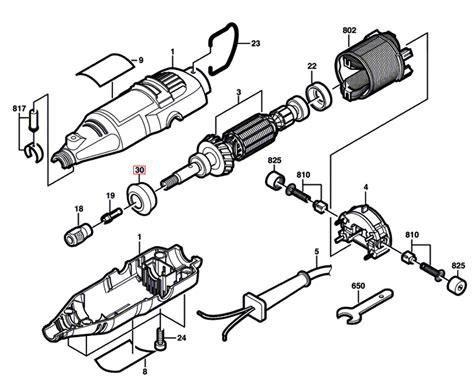 dremel parts diagram buy dremel 275 f013028505 replacement tool parts