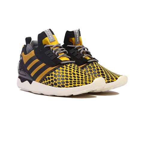 adidas zx 8000 boost yellow black gold s shoes