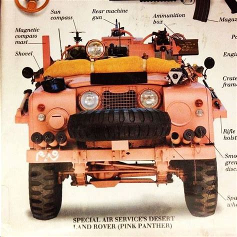 land rover pink series 2a pink panther as used by the early sas in wwii