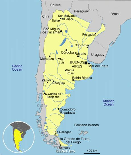 map of argentina with cities argentina map map of argentina