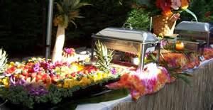 buffet hawaii hawaiian luau buffet wedding food trends