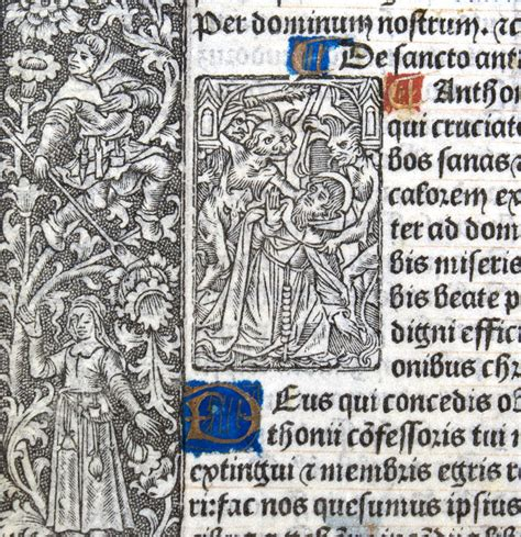 The Book Of Sts book of hours sts claudius anthony c 1506 im 10659