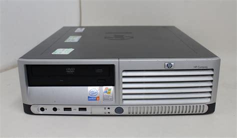 hp compaq dc7600 intel pentium 4 2 80ghz 1mb pc desktop cache nessun disk ebay