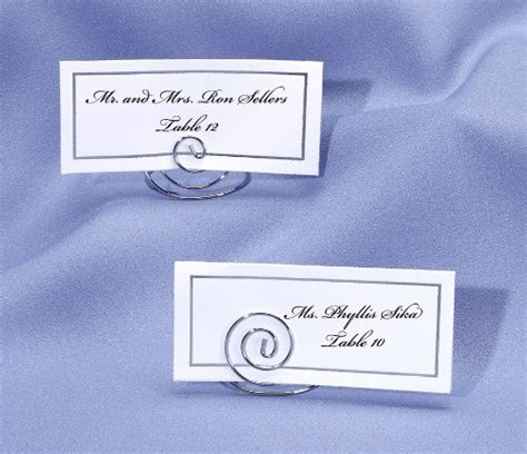 table top place card holders darice vl12421sp wedding table top place card holder 24