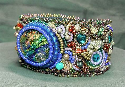 free bead embroidery free bead embroidery tutorials bracelet soutache
