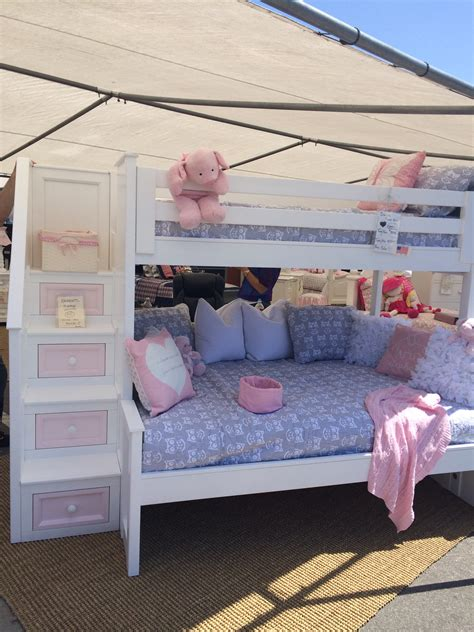 Factory Direct Bunk Beds Danielle Bunk Bed With Stairs Alley Factory Direct Custom Furniture