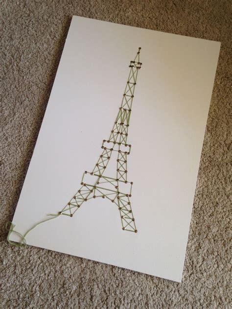 Eiffel Tower String - 25 best ideas about eiffel tower craft on