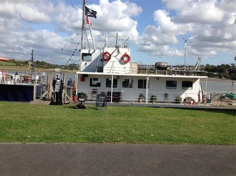 the boat cafe boat cafe picture of the barge cafe bideford tripadvisor
