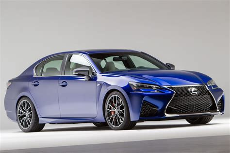 lexus rcf sedan 2016 lexus gs f gets 467 hp v8 will debut in detroit