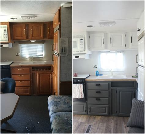 Rv Ideas Renovations | cer remodel ideas 54 cer remodeling rv and gray