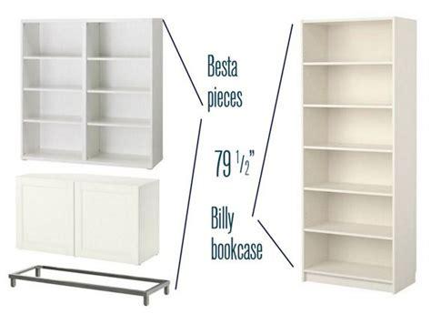 besta over bed besta billy brass bookcases girl blog ikea hack and