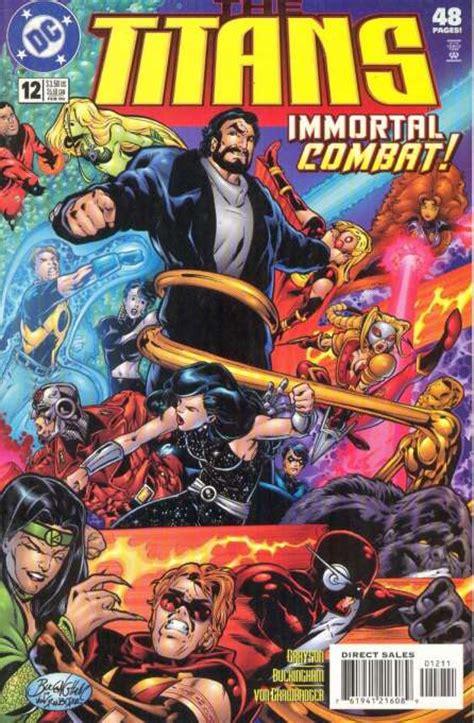 titans tp vol 1 titans vol 1 12 dc comics database
