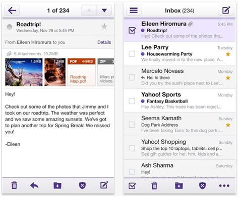 Yahoo Free Email Search Reved Yahoo Mail App For Iphone Android And Windows 8 For Free