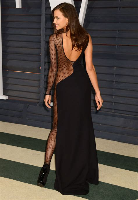 Vanity Fair Oscar 2015 Irina Shayk Irina Shayk 2015 Vanity Fair Oscar 38 Gotceleb