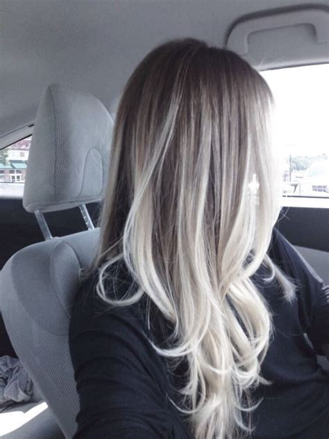 age for icy blonde hair platinum blonde balayage hair pinterest blonde
