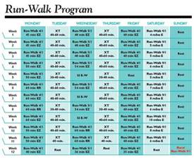 run walk half marathon plans