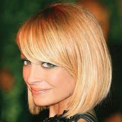 bob haircuts for side bangs this seasons best short hairstyles for round faces women