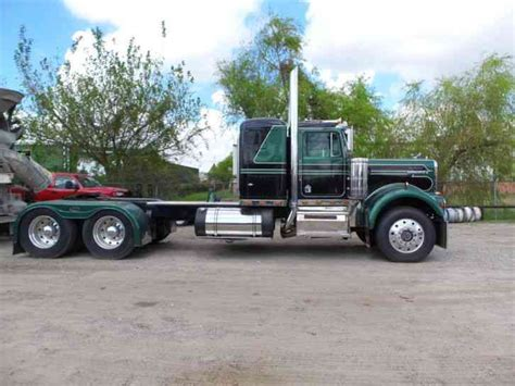 Extended Sleeper Trucks by Peterbilt 379 Extended 2000 Sleeper Semi Trucks
