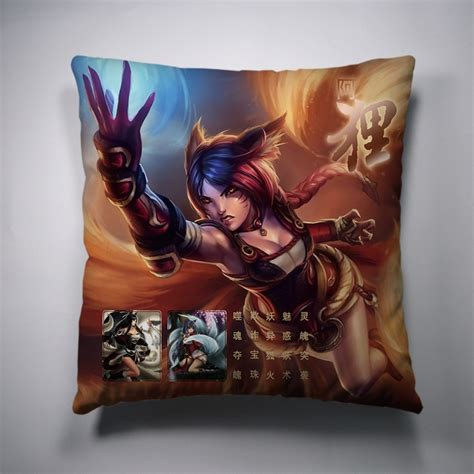 League Of Legends Pillow by Pin By Colorful Mart On League Of Legends Decorative