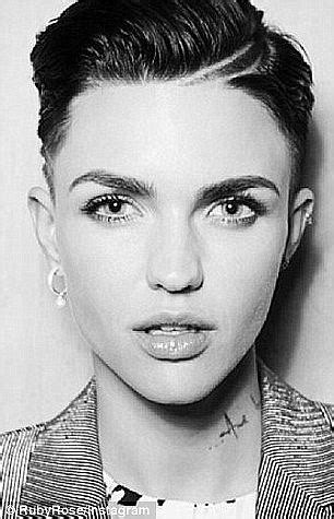 ruby before after haircuts ruby rose bears a striking resemblance to twin justin