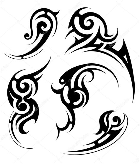 tribal tattoo vector tribal stock vector 169 akv lv 10815378