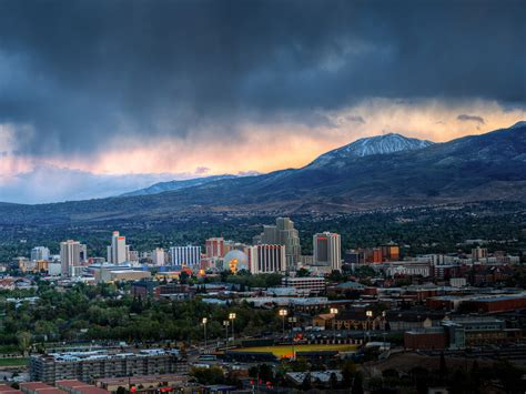 stormy view from university park reno nevada i ve shot