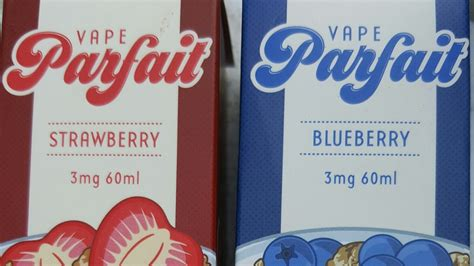 E Liquid Vapor Vape Vape Parfait Blueberry Parfait 60ml 3mg vape parfait blueberry and strawberry e juice by vapetasia review