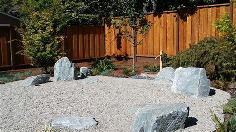 building a zen garden hillsborough design build terra ferma landscapes