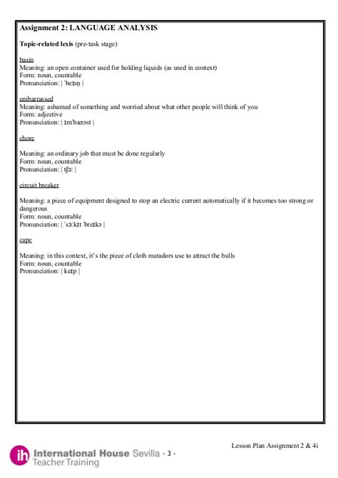 foreign language lesson plan template printable foreign language lesson plan template free