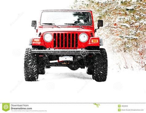 Jeep Four By Four 4x4 Truck Jeep Stock Images Image 4822694