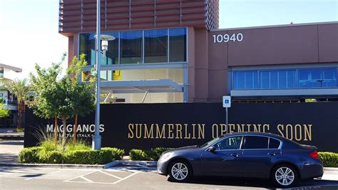 California Pizza Kitchen Downtown Summerlin by Updating Downtown Summerlin S 3 Million Maggiano S Italy Eater Vegas
