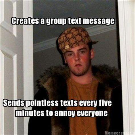 Group Message Meme - group text message meme memes