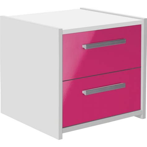 sywell bedroom furniture buy home new sywell 2 drw bedside chest white pink