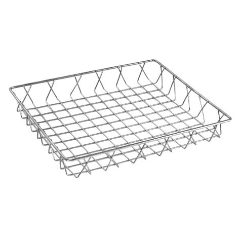 teppiche 300 x 350 olympia st st wire display basket 350 x 300 x 50mm the