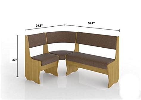 l shaped storage bench fiji kitchen nook dining table set l shaped storage bench