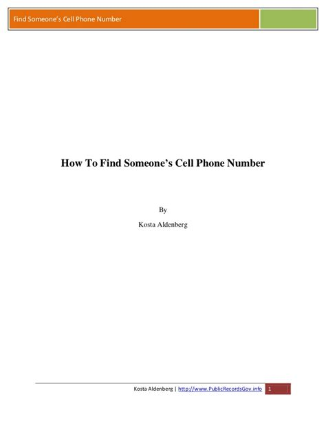 Find S Cell Phone Numbers By Name How To Find Someone S Cell Phone Number