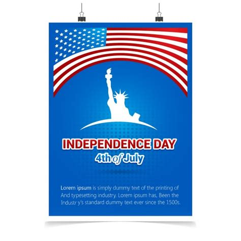 Greeting Card Of Independence Day