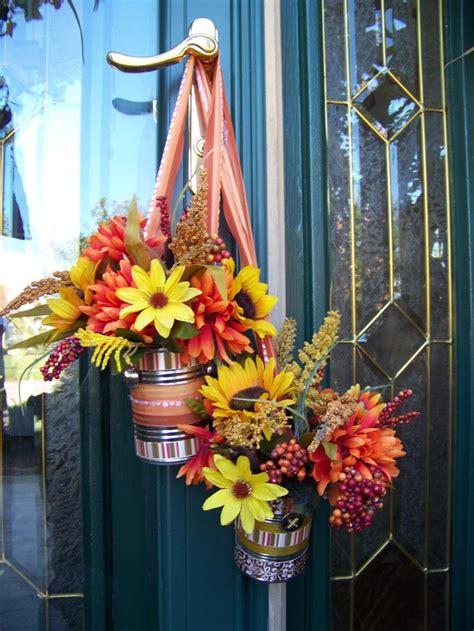 diy fall door decorations fall d 233 corbetterdecoratingbible