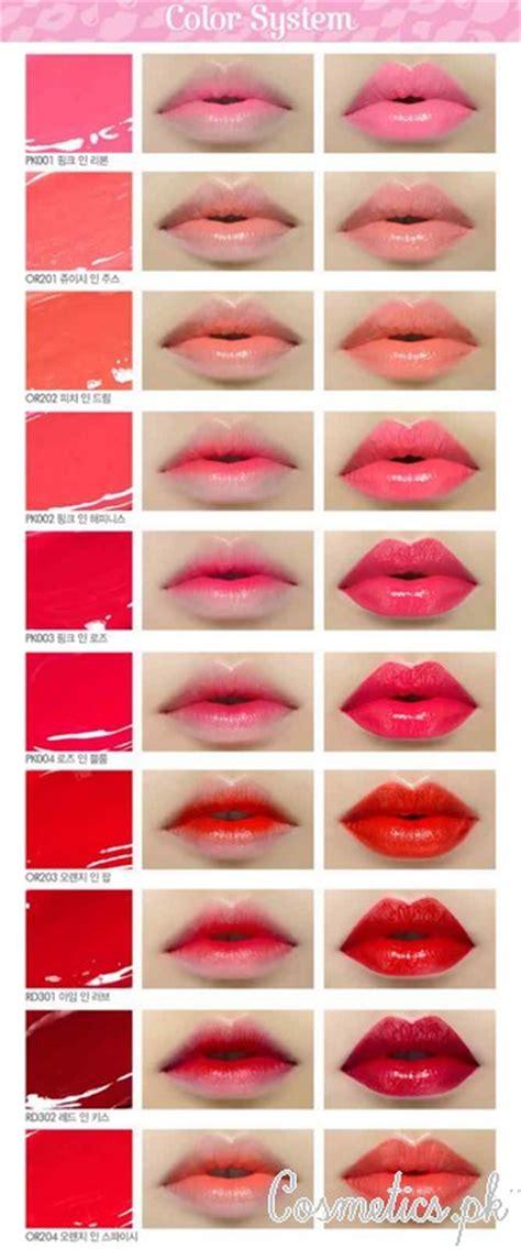 Etude Lipstick Swatch etude house lipsticks 2015 color in liquid