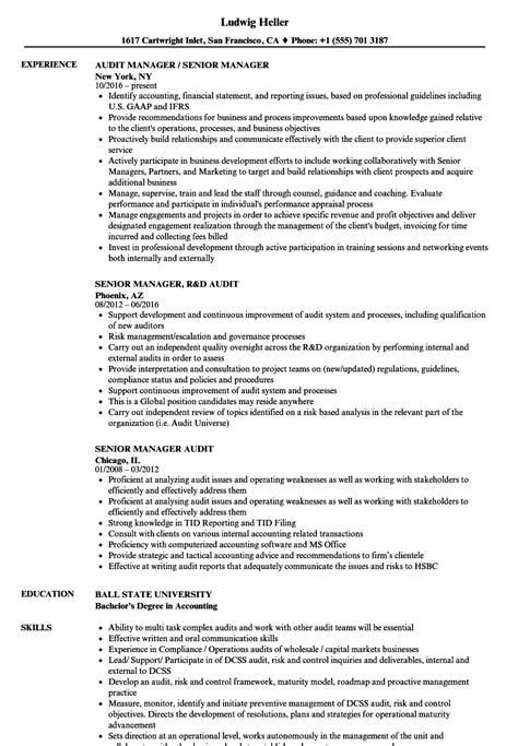 Senior Manager Resume Template by Resume For Senior Manager Senior Real Estate Account