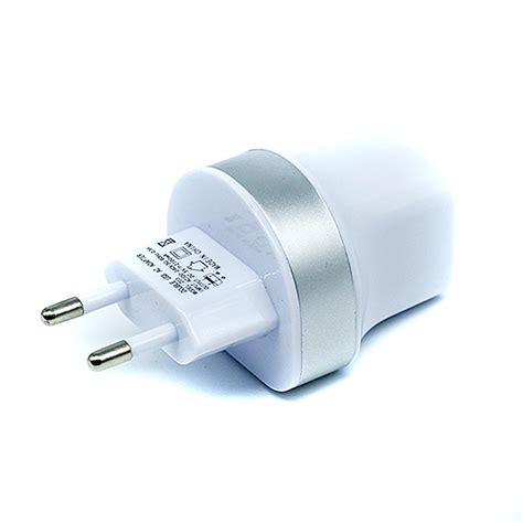 Dual Usb Charger Europe Socket Jbl1309 Diskon 1 5v 2 1a dual usb wall travel charger adapter with europe eu for iphone android smartphones