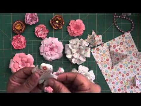 How To Make Recycled Paper Flowers - how to make recycled paper flowers videomoviles