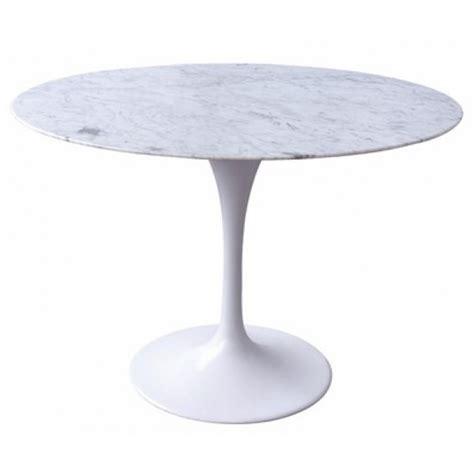 tulip 100cm marble table glicks furniture