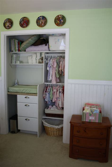 Changing Table In Closet by Baby Closet With Built In Changing Table Search