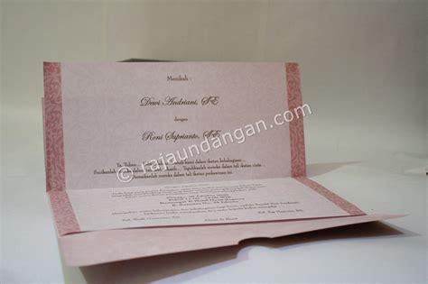 Blangko Undangan Nikah Pernikahan Fatih 17 undangan pernikahan softcover dewi dan roni